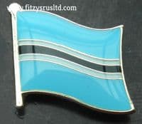 Botswana Country Flag Lapel Hat Cap Tie Pin Badge / Brooch - Batswana Motswana